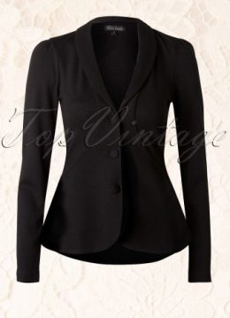 Sunday Crepe Jacket Milano in Black