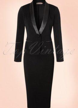 50s Laurie Blazer Jacket in Black