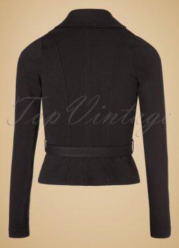 40s Isabella Blazer Jacket in Black