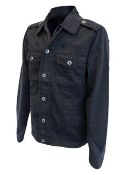 Jack Daniels merchandise- Back logo jacket black - L
