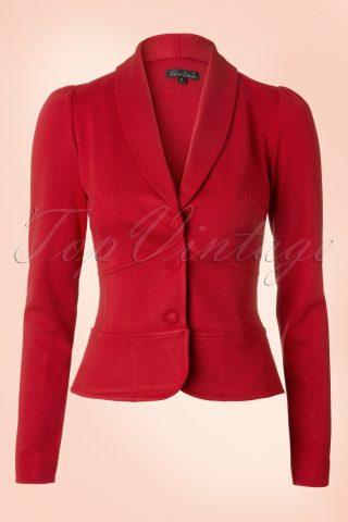 Smoking Jacket Milano in Red