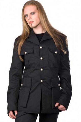 Army jacket denim black - L - Aderlass