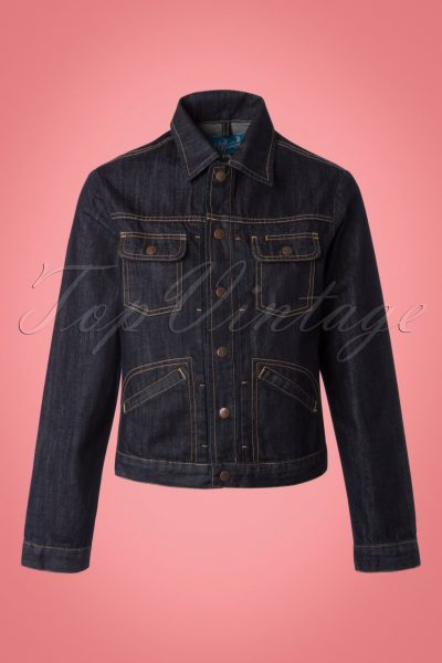 50s Indiana Jeans Jacket in Denim